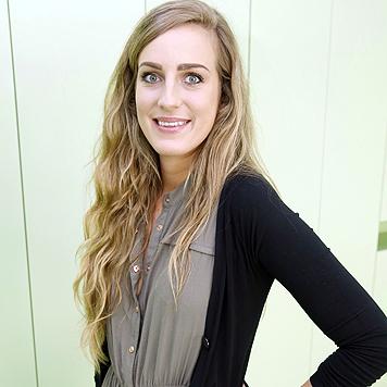 Juliane, 23, eine der ersten FH-Studenten (Bild: Martin A. Jöchl)