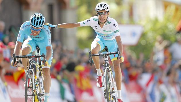 Aru vor Vuelta-Gesamtsieg, Dumoulin brach ein (Bild: AP)