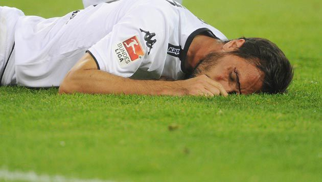 Gladbach verliert, Stranzl geht k.o. (Bild: GEPA)