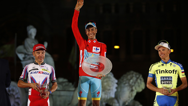 Italiener Aru triumphiert bei Spanien-Rundfahrt (Bild: AP)