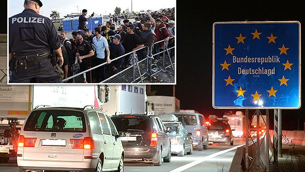 Flüchtlingskrise: Was uns jetzt erwartet (Bild: APA/BARBARA GINDL, EPA/HERBERT P. OCZERET)
