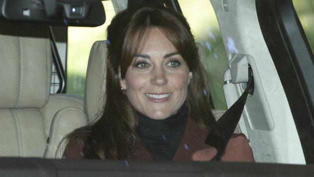 Herzogin Kate überrascht mit frechen Stirnfransen. (Bild: www.splashnews.com)