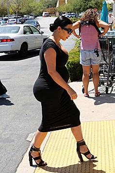 Schwarz kaschiert bei Kim schon länger nichts mehr. (Bild: Viennareport)