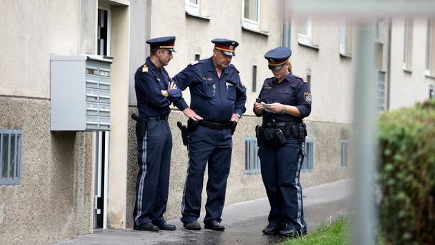 Mann und Frau tot in Wiener Wohnung gefunden (Bild: APA/GEORG HOCHMUTH)