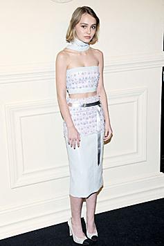 Karl Lagerfeld hat Lily-Rose Depp zu seiner Muse erkoren. (Bild: Viennareport)