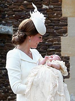 Außerdem sind Experten sicher, die Mini-Prinzessin ist unglaubliche vier Milliarden Euro wert. (Bild: EPA)