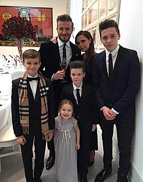 Die Beckhams sind eine erfolgreiche Familie: Neben Victoria und David machen auch die Kids Karriere. (Bild: Viennareport)