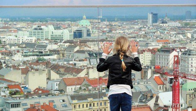 """""""Liebeserklärung an Wien: Schickt uns eure Pics! (Bild: Leserreporter Ingrid Aberbach)"""""""