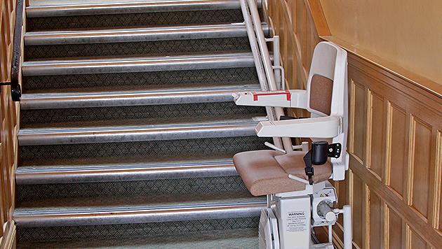 Mobilität im Alter: barrierefrei wohnen (Bild: thinkstockphotos.de)