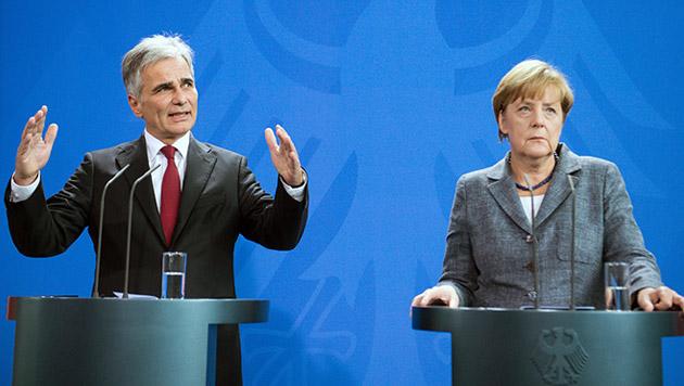 """Gute Nachbarn"" erhöhen in Asylkrise Druck auf EU (Bild: APA/EPA/WOLFGANG KUMM)"