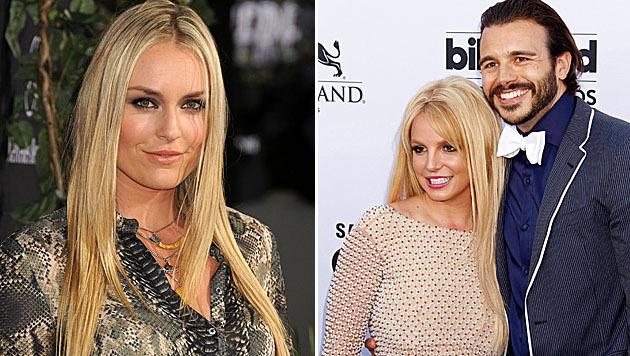 """Liebt Lindsey Vonn nun Britney Spears"""" Ex Charlie Ebersol? (Bild: Viennareport, APA/EPA/JIMMY MORRIS)"""