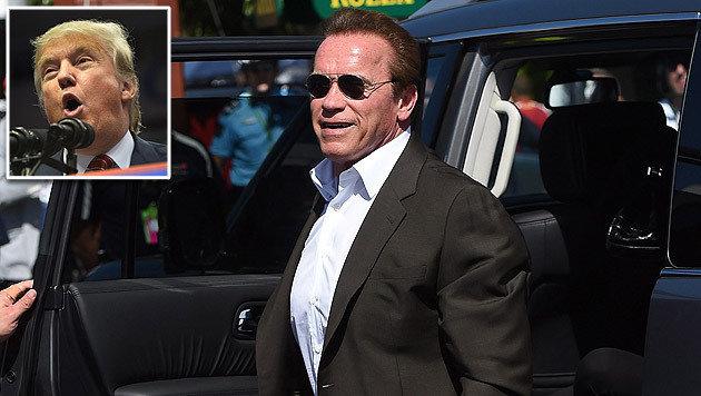 "Schwarzenegger moderiert künftig auf NBC Trumps bisherige Show ""The Celebrity Apprentice"". (Bild: APA/EPA/LARRY W. SMITH, EPA)"