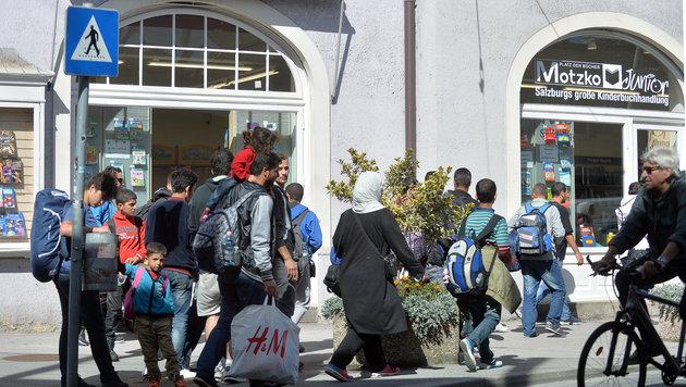 Flüchtlingskrise: Zustrom deutlich abgeebbt (Bild: APA/BARBARA GINDL)