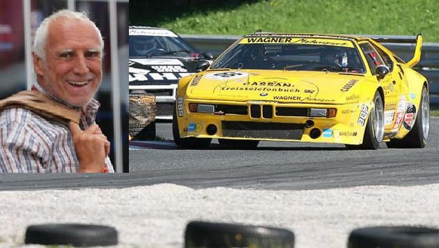 Motorsport-Fan Dietrich Mateschitz (li.) wird demnächst Eigentümer des Salzburgrings sein. (Bild: Sepp Pail/Andreas Tröster)