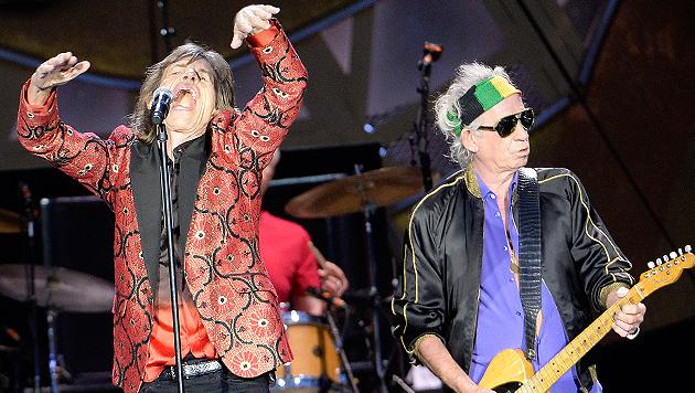 Rolling Stones kündigen neues Studioalbum an (Bild: APA/Hans Klaus Techt)