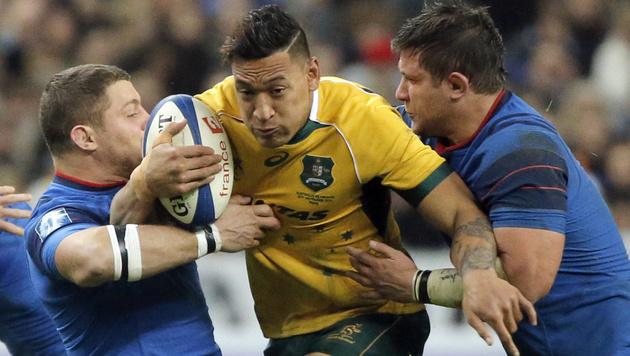Rugby-WM in England: Das Sport-Event des Jahres (Bild: AP)