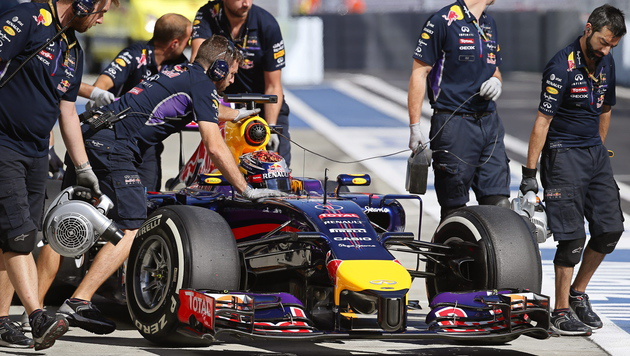 "Vettel: Renault-Ausstieg wäre ""schwerer Schlag"" (Bild: APA/EPA/YURI KOCHETKOV)"