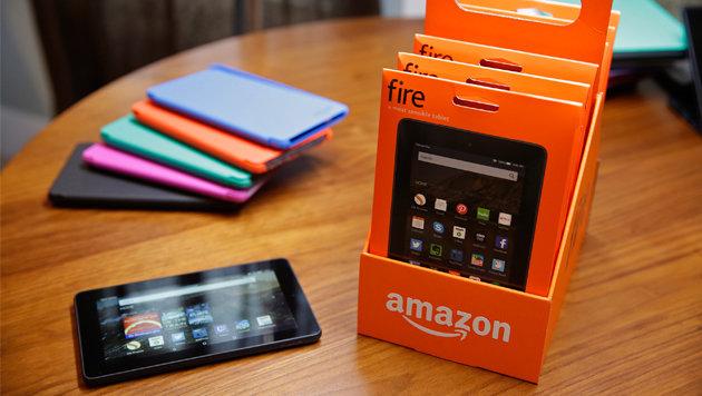 Amazon kündigt neue Fire-Tablets zum Kampfpreis an (Bild: AP)