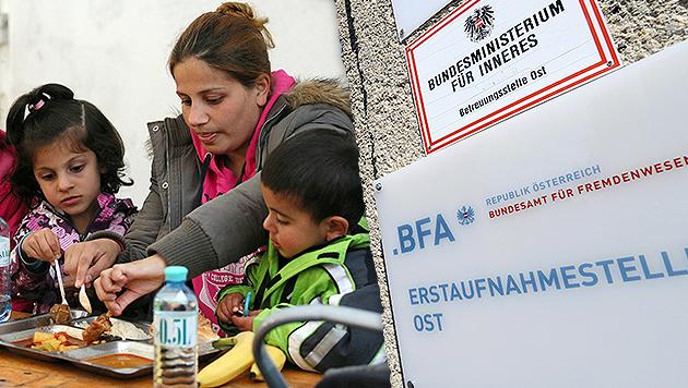 Asyl: Grüne für Schulen bei Erstaufnahmezentren (Bild: APA/EPA/ROLAND SCHLAGER, AP)