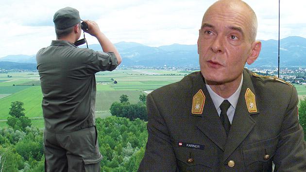 """Beim Grenzeinsatz wäre Berufsheer klar besser"" (Bild: Robert Friess/Bundesheer, MARTIN A JÖCHL)"