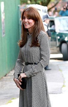 Ebenfalls viel Beachtung findet derzeit Kates Frisur. Sie einen gescheitelten Pony. (Bild: AFP, EPA)
