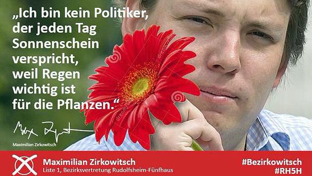 Kurioser Stimmenfang wenige Wochen vor Wien-Wahl (Bild: Facebook)
