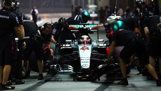 Vier Motoren-Hersteller für zehn Formel-1-Teams (Bild: GEPA)