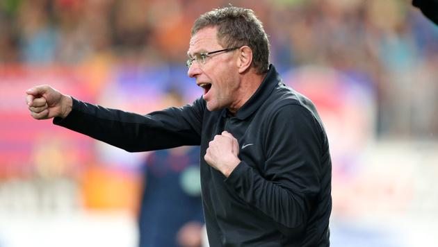Leipzig-Coach Ralf Rangnick (Bild: GEPA)