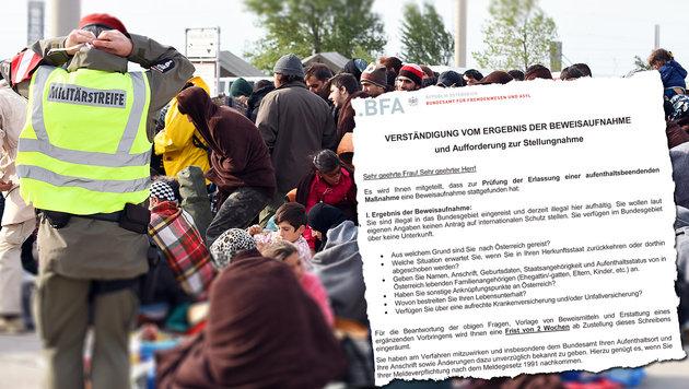 23.700 Flüchtlinge an nur einem Wochenende (Bild: APA/HERBERT P. OCZERET, BFA)