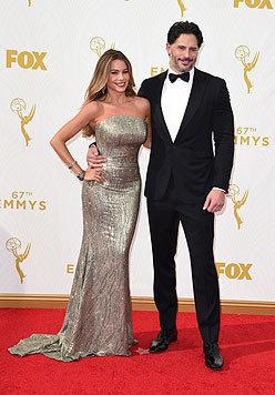 Ein schönes Paar: Sofia Vergara und Joe Manganiello (Bild: AFP)