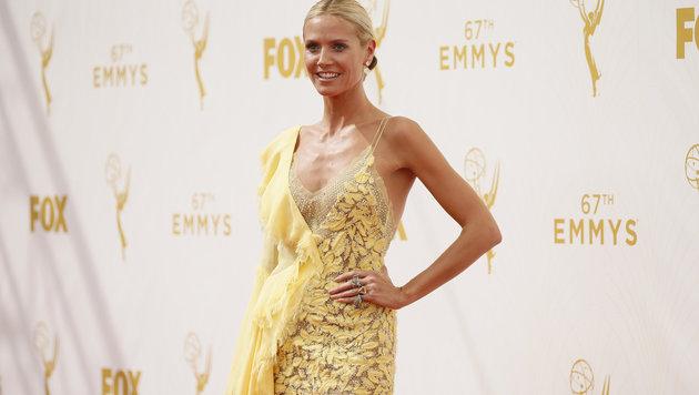 Heidi Klum (Bild: AP/Invision for the Television Academy)