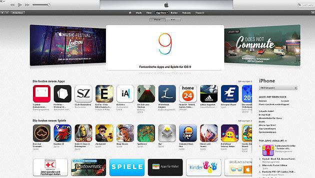 Apple veröffentlicht Liste mit infizierten Apps (Bild: iTunes)