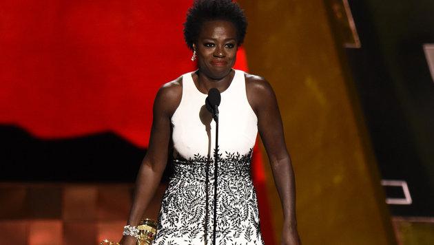 Viola Davis ist die erste Schwarze mit einem Emmy als beste Hauptdarstellerin in einer Dramaserie. (Bild: Chris Pizzello/Invision/AP)