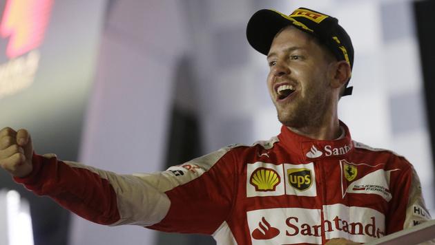 """Vettel: """"WM-Titel muss unser Anspruch sein"""" (Bild: AP)"""