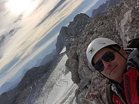 Andreas Gabalier am Dachstein (Bild: Walter Walcher Bergführer Ramsau am Dachstein)