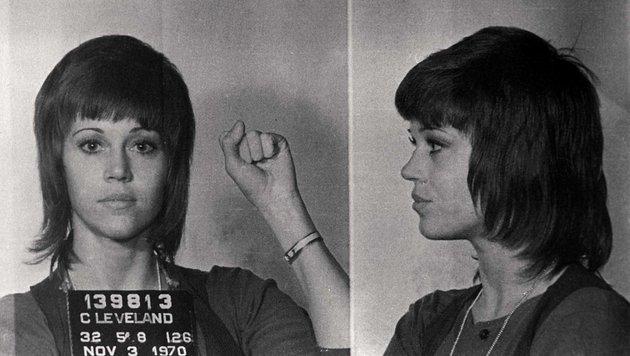 Jane Fonda als Polit-Aktivistin (Bild: Viennareport)