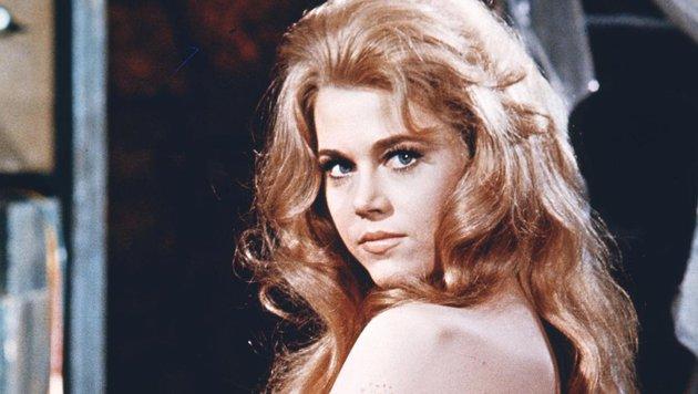 """Einst war Jane Fonda das Sex-Kätzchen """"Barbarella"""". (Bild: Viennareport)"""