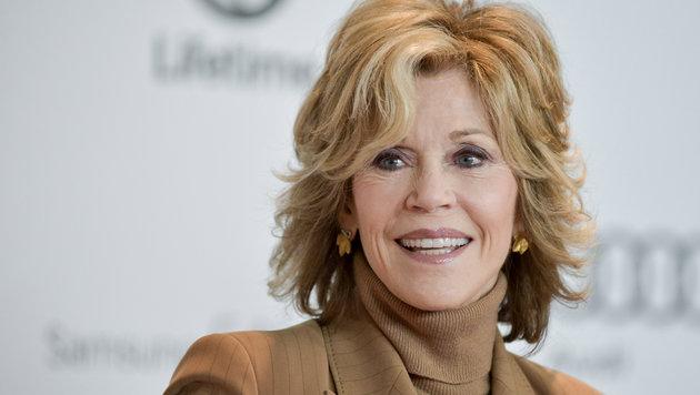 """""""Man muss alles in Maßen tun"""", ist das Geheimnis von Jane Fonda. (Bild: Richard Shotwell/Invision/AP)"""