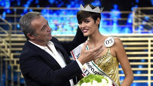 """Miss Italia"" Alice Sabatini (Bild: APA/EPA/RICCARDO DALLE LUCHE)"