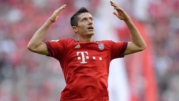 Robert Lewandowski verlängert bei Bayern München (Bild: GEPA)