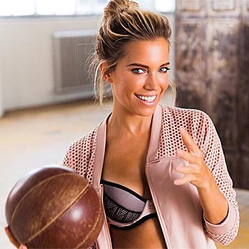 Sylvie hält sich mit Intervalltraining fit. (Bild: instagram.com/hunkemollerhq)