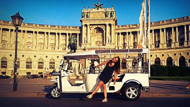 """""""Scharf durch die City: Die coolsten Touren! (Bild: www.facebook.com/welovetuktuk)"""""""