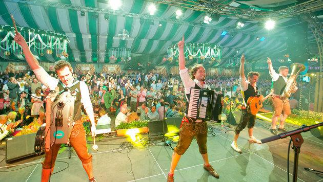 Wiener Wiesn-Fest: Spritbuam gewinnen Musik-Award (Bild: Harald Klemm)