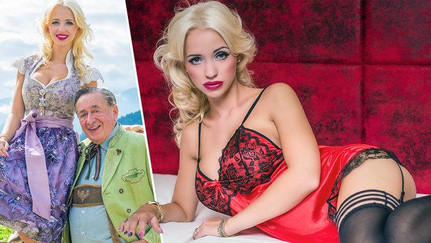 Cathy Lugner: Erotikshooting in den Tiroler Alpen (Bild: ML Photographie)