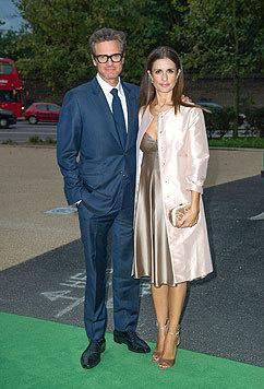 Colin Firth mit Ehefrau Livia