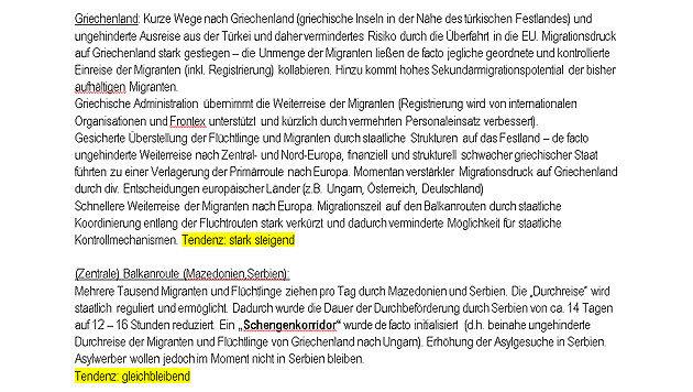 Fl�chtlinge: Geheimer Asylbericht sorgt f�r Wirbel (Bild: Bayerischer Rundfunk)