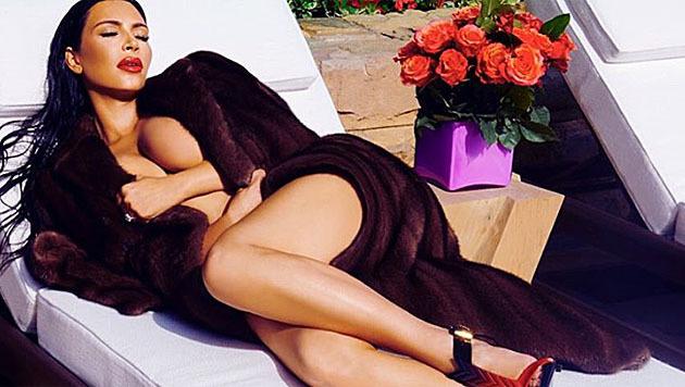 In diese Form will Kim Kardashian nach der Geburt ihres zweiten Kindes schnell wieder kommen. (Bild: instagram.com/kimkardashian)
