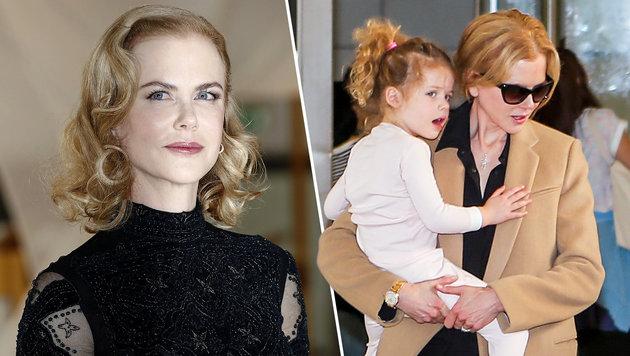 Nicole Kidman will den Töchtern Faith (im Bild) und Sunday einen Bruder schenken. (Bild: Viennareport)