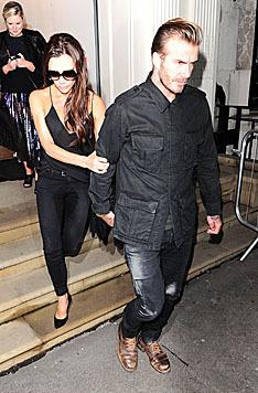 Da half auch der Versuch, sich hinter David Beckham zu verstecken, nichts. (Bild: Viennareport)
