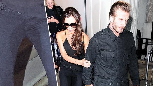 Victoria Beckham: Peinliche Pipi-Panne? (Bild: Viennareport)